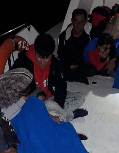 Sürat teknesiyle Yunanistan'a kaçmaya çalıştılar
