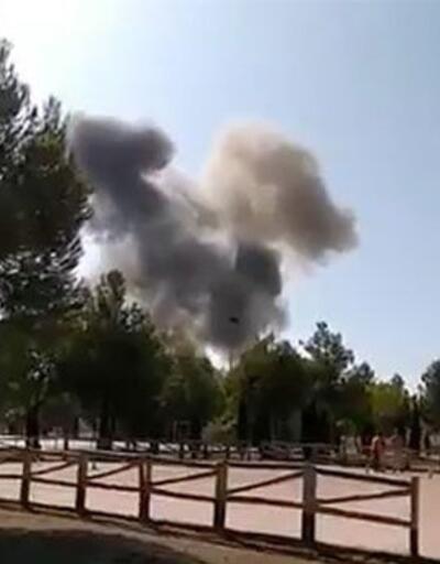 İspanya'da geçit töreninde askeri jet düştü