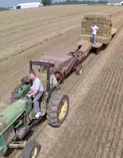 Türkiye Bulgaristan'dan saman ithalatına başladı