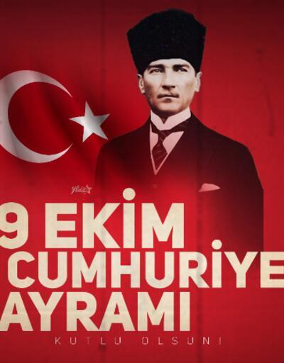 Resimli 29 Ekim mesajları... Anlamlı Cumhuriyet Bayramı mesajları ve sözleri