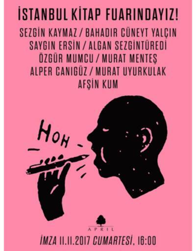 April yazarları İstanbul Kitap Fuarında!