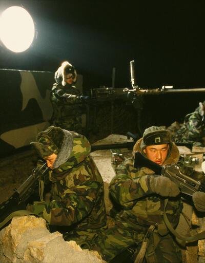 Güney-Kuzey Kore sınırında Kuzey Kore askeri vuruldu, tansiyon yükseliyor