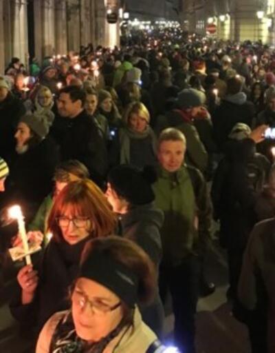 Avusturya'da aşırı sağ karşıtı gösteri