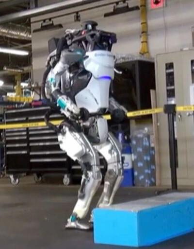İnsansı robot Atlas kendini aştı