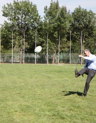 Richard Moore: Ragbi oynamışlığım da var