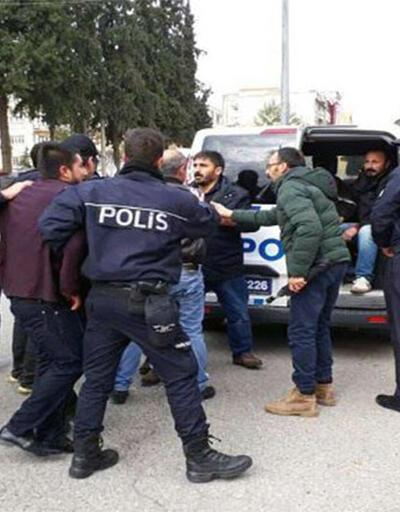 Son dakika... Tütün yasağı protestosuna polis müdahalesi