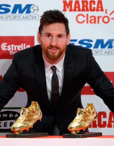 Messi'ye bir 'Altın Ayakkabı' daha
