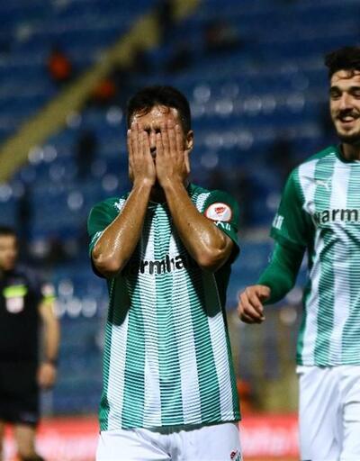 Bursaspor Furkan Soyalp'le kazandı