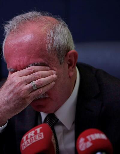 Orhan Miroğlu yaşadıklarını anlatırken gözyaşlarını tutamadı