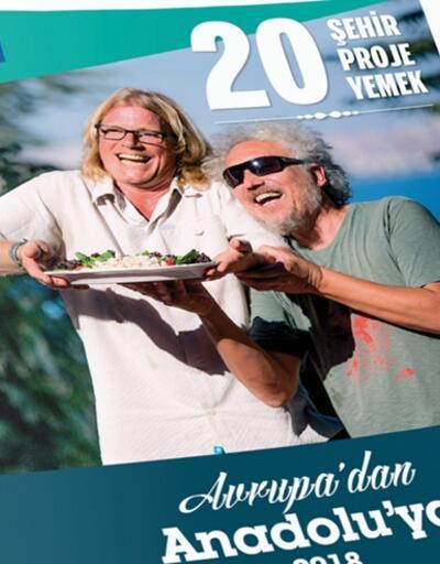 """Atlas dergisinden  """"Avrupa'dan Anadolu'ya 20 Şehir, 20 Proje, 20 Yemek"""""""