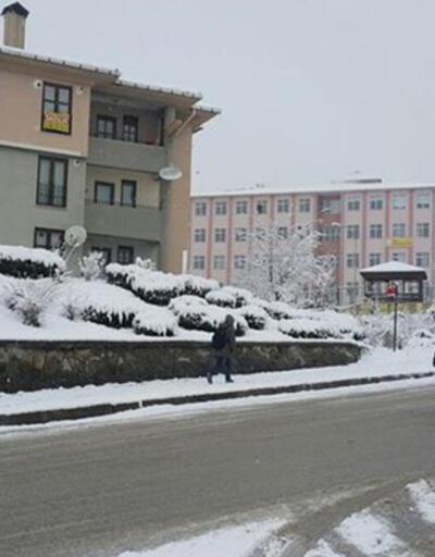 Okullara ilk kar tatili Düzce'de. Eğitime 1 gün ara