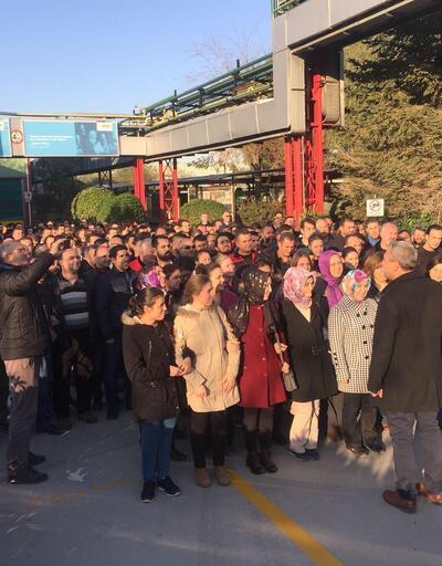 Manisa'da 4 bin 500 işçi, 16 fabrikada eylemde