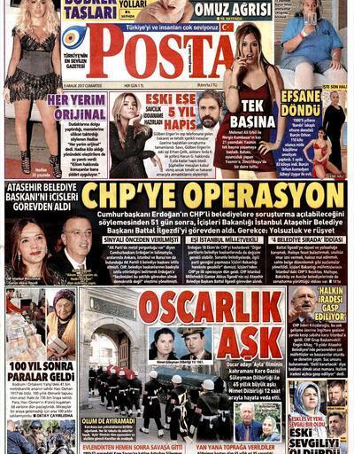 9 Aralık 2017 - Gazete manşetleri