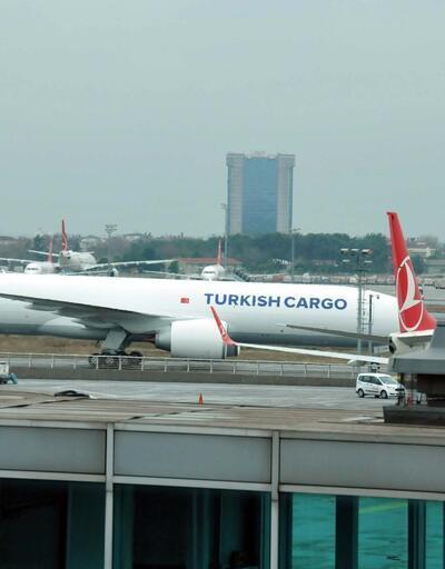 THY'nin ikinci Boeing 777F'i de İstanbul'da