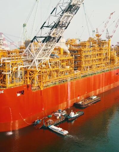 İşte dünyanın en büyük gemisi: Prelude