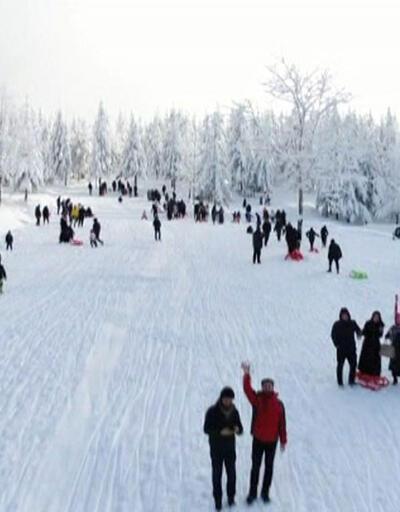 Kartpostallık görüntüler ortaya çıktı, kış turizmi canlandı
