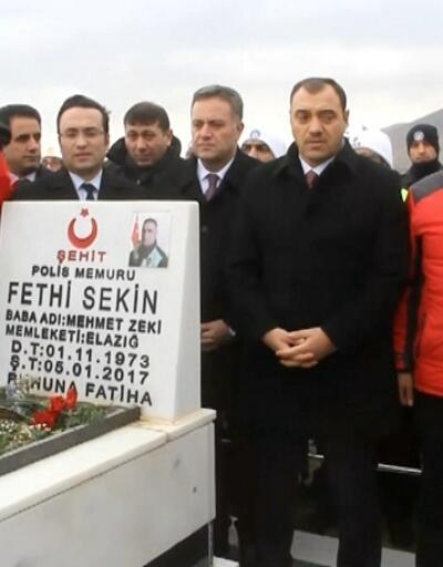 Kahraman polis Şehit Fethi Sekin İzmir'de anıldı