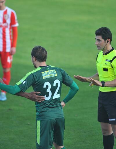 Bursaspor sert geçen maçı kazandı
