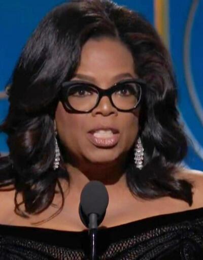 Oprah'ın konuşması Altın Küre'ye damgasını vurdu