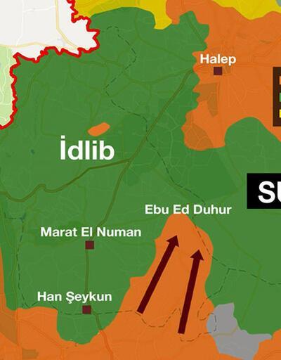 Muhaliflere göre hedef İdlib'in Doğusu