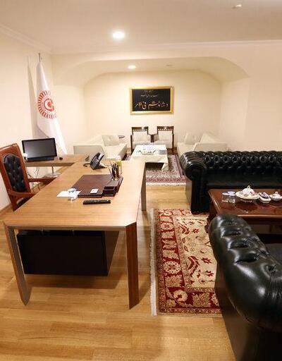 TBMM Genel Sekreteri'nden 'lüks oda' eleştirilerine yanıt