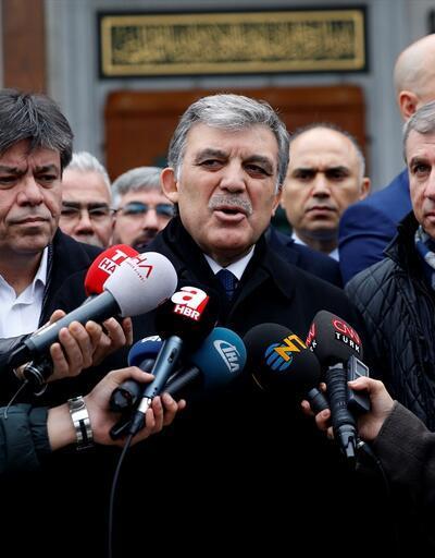 Son dakika... Abdullah Gül'den tepkilere yanıt