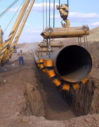 TürkAkım'ın doğalgaz alım terminalinin inşasına başlandı