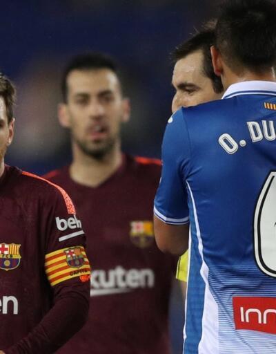Barcelona'nın serisi sona erdi