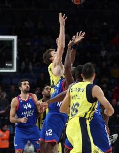 THY Euroleague: Anadolu Efes: 84 - Fenerbahçe Doğuş: 89