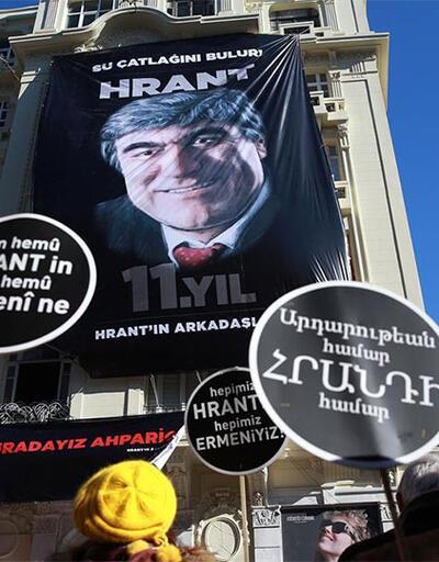 Hrant Dink katledildiği yerde anıldı