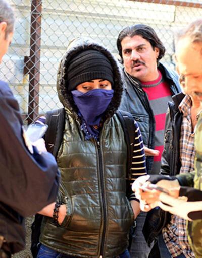 'Canlı bomba' sanılan Suriyeli kadın, 'kaçırılmak' için bekliyormuş