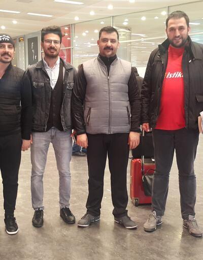 İsrail'de gözaltına alınan Türk iş adamları İstanbul'a döndü