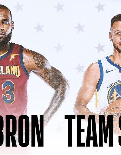 Lebron ve Curry NBA All-Star kadrolarını seçti