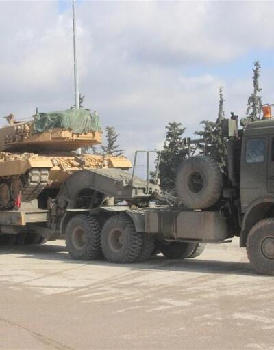 Afrin'e zırhlı birlik sevkiyatı devam ediyor