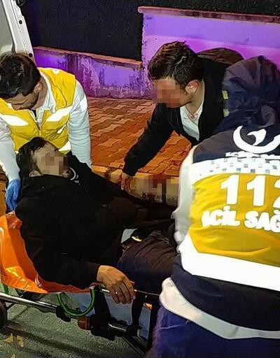 Samsun'da iki kardeşe sokak ortasında 5 kişi bıçaklarla saldırdılar