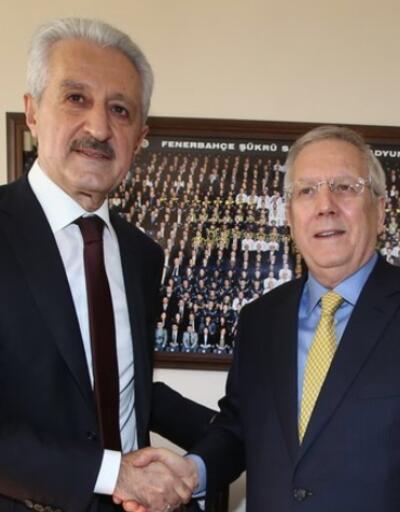 Aziz Yıldırım'dan Mehmet Ali Aydınlar'a teşekkür