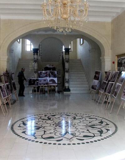 Harekatın merkezi Kilis'te valilik binası 'zeytin dalı' motifleriyle süslendi