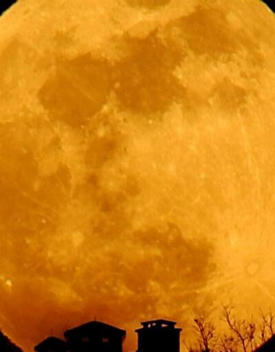 'Süper Mavi Kanlı Ay' tutulması İstanbul'da böyle gözlendi