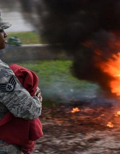İncirlik'te ABD bayrağı yaktılar