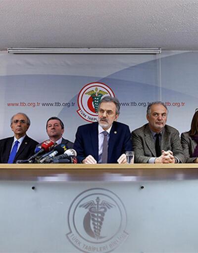 Türk Tabipler Birliği'nin yöneticilerinden açıklama