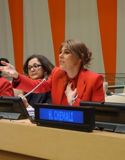Hanzade Doğan Boyner BM'de konuştu: Kadınlarımızı, kızlarımızı bilimde güçlendirme çabalarını artıracağız