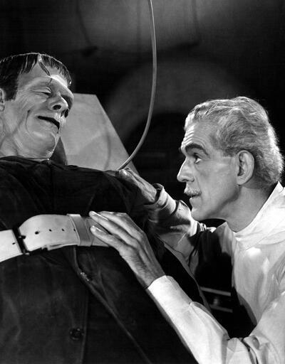 Bu kitap Frankenstein'in kalbine iniyor