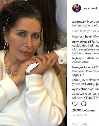 Nuray Hafiftaş'ın ardından ünlü isimlerden duygusal mesajlar
