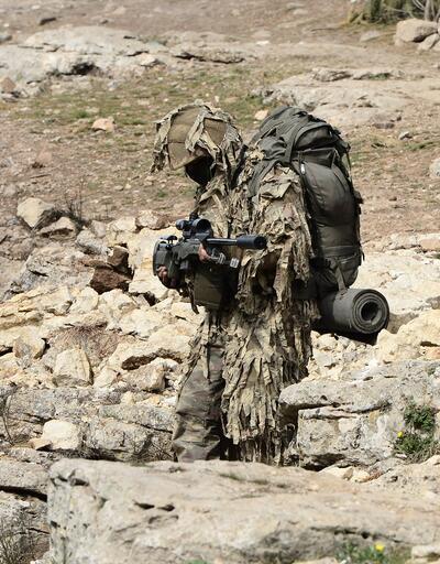 Teröristlerin korkulu rüyası keskin nişancılar Afrin'e gönderildi