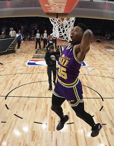 NBA All-Star'da smaç, yetenek ve üç sayı yarışmaları yapıldı