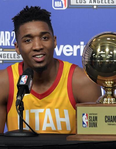 Donovan Mitchell NBA All-Star smaç yarışmasının galibi