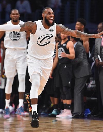 All Star'ı LeBron James'in takımı kazandı
