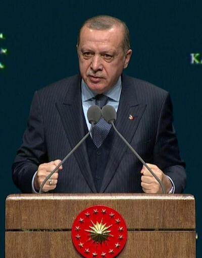 Cumhurbaşkanı Erdoğan: İnsansız tank üretmeliyiz