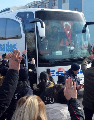 Özel harekat polisleri Afrin'e böyle uğurlandı