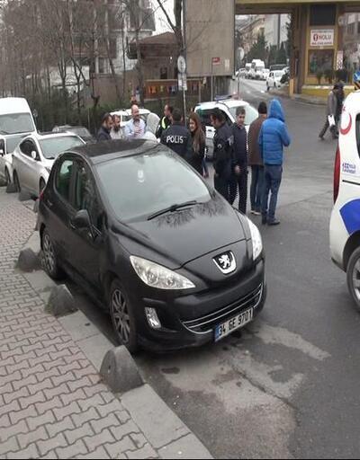 Hastane önünde polisi alarma geçiren sözler